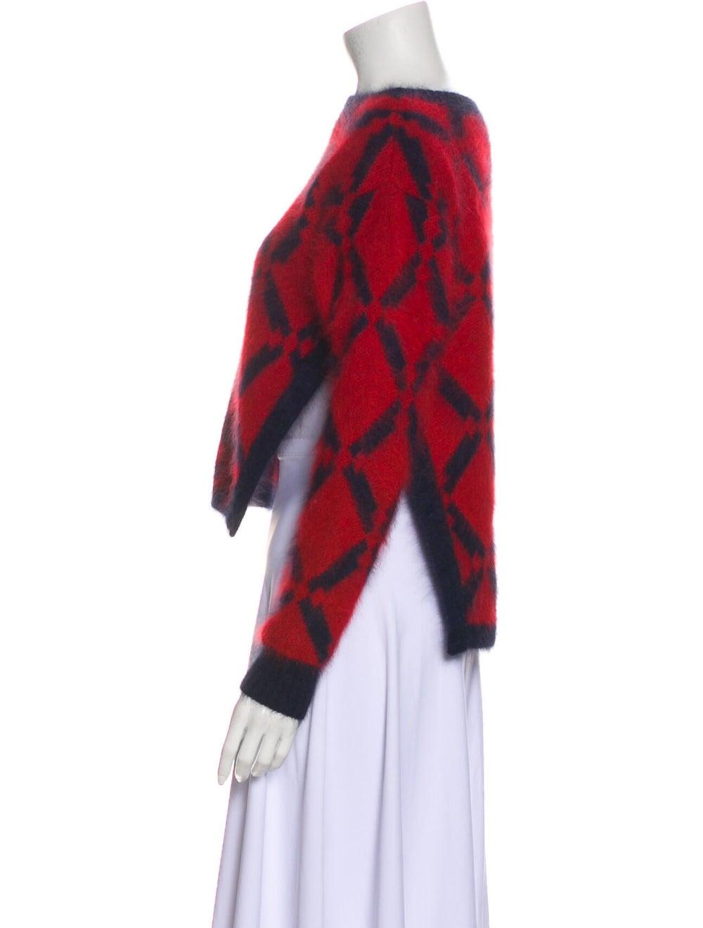 Versace Wool Printed Sweater Wool - image 2