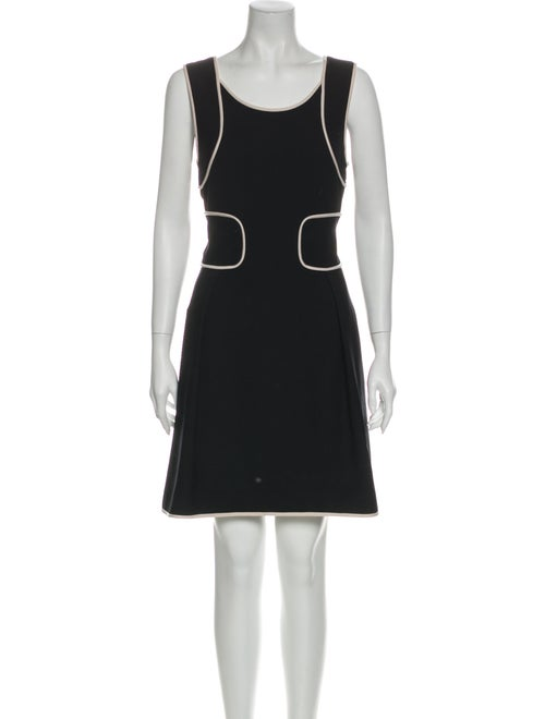 Versace Wool Mini Dress Wool