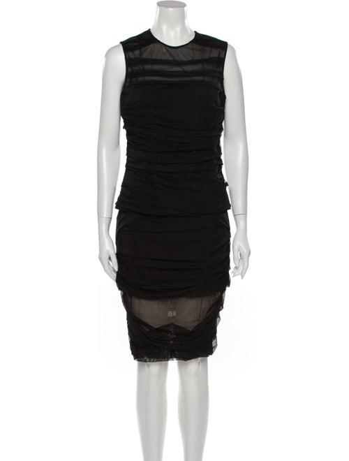 Versace Skirt Set Black
