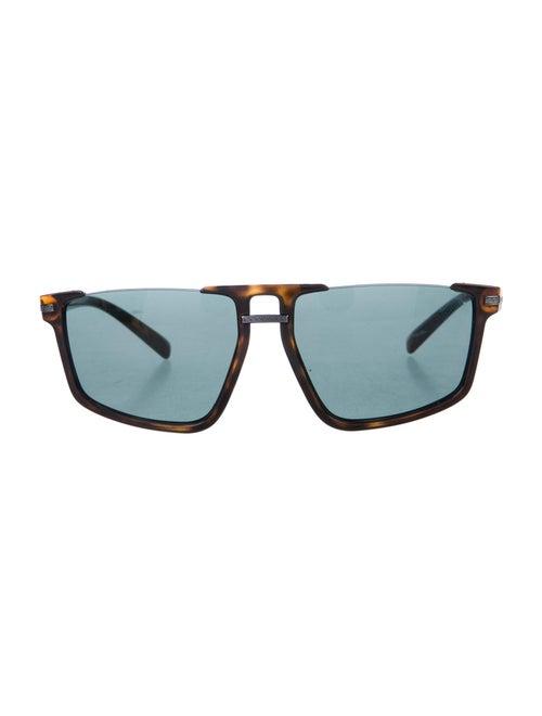 Versace Oversize Tinted Sunglasses Black