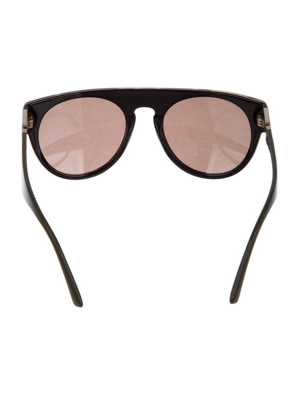 Versace Cat-Eye Mirrored Sunglasses Brown - image 3