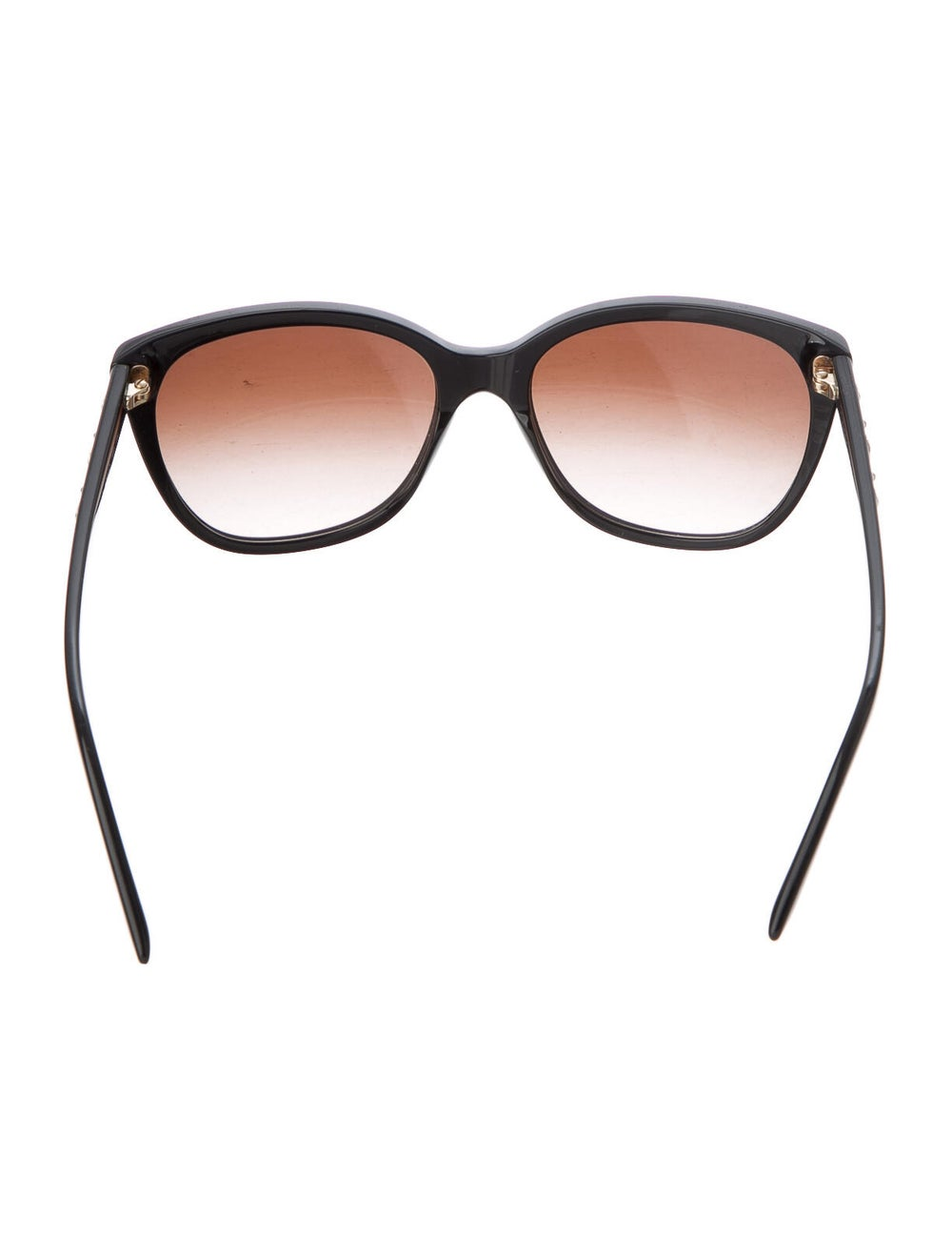 Versace Medusa Insignia Cat-Eye Sunglasses Black - image 3