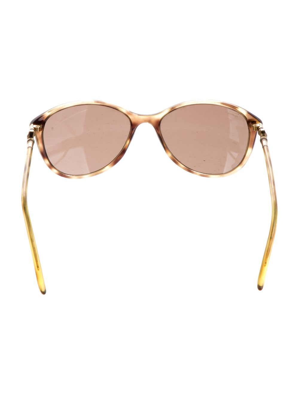 Versace Cat-Eye Tinted Sunglasses Gold - image 3