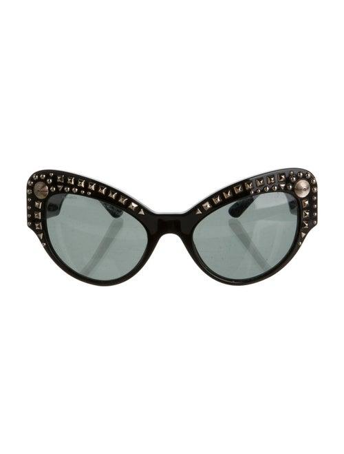 Versace Cat-Eye Tinted Sunglasses Black
