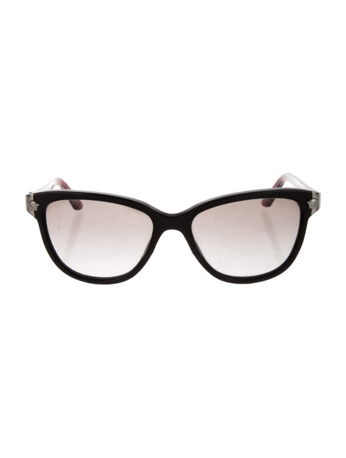 Versace Cat-Eye Gradient Sunglasses Black