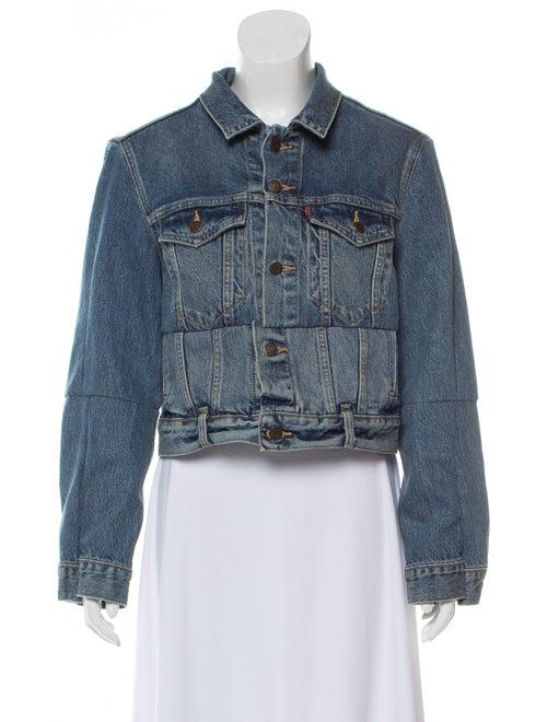 Vetements x Levi's Reworked Denim Jacket blue