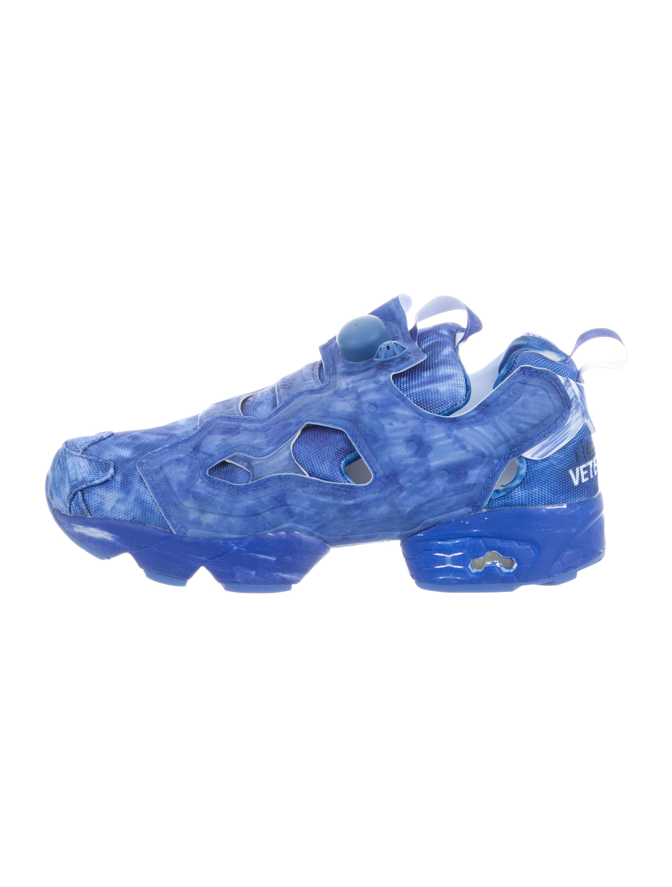 Vetements x Reebok 2017 Highlighted Instapump Sneakers w/ Tags wide range of for sale very cheap for sale discount latest collections big discount cheap price for cheap for sale UciKB