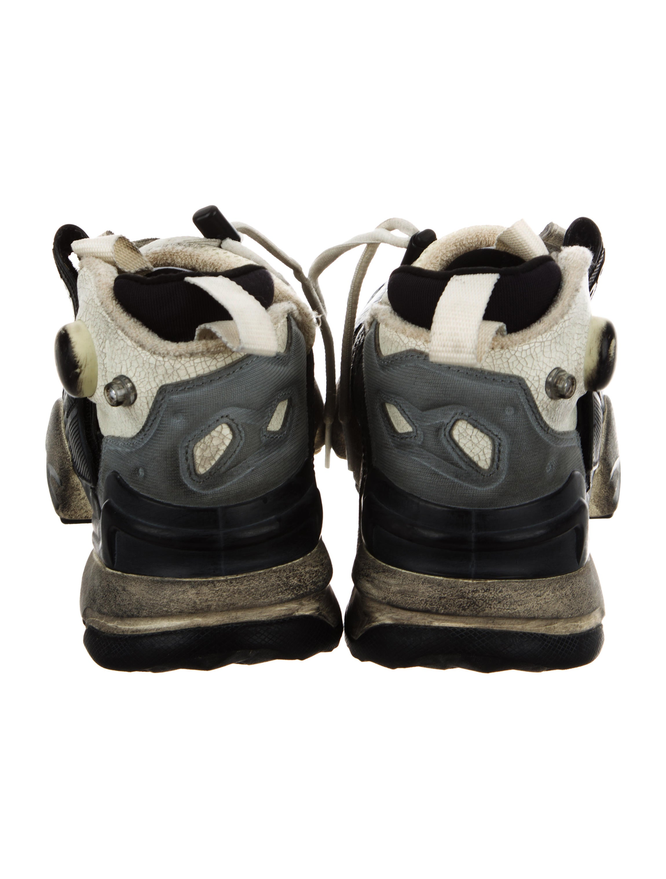 Vetements x Reebok Genetically Modified Pump Distressed