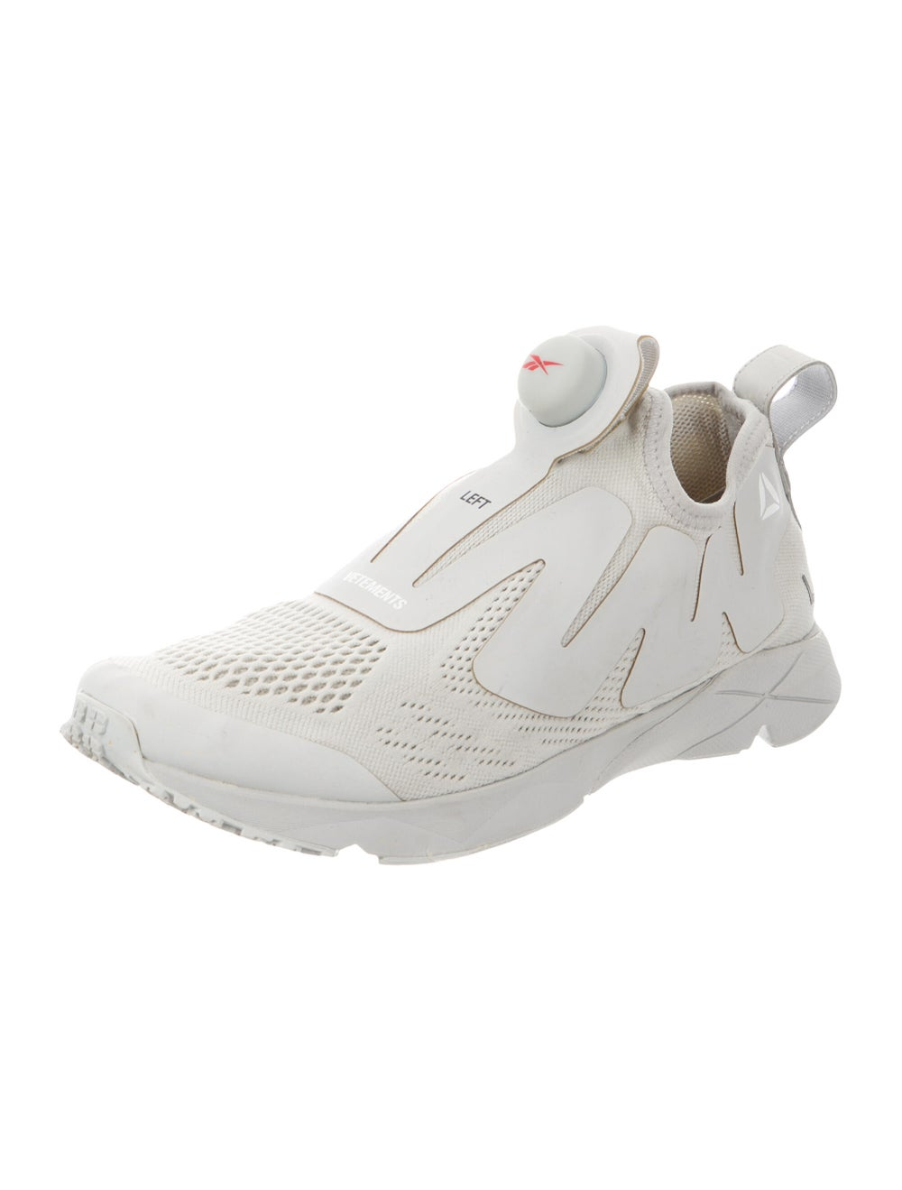Vetements x Reebok Pump Supreme Sneakers Grey - image 2