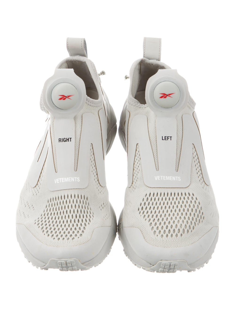 Vetements x Reebok Pump Supreme Sneakers Grey - image 3