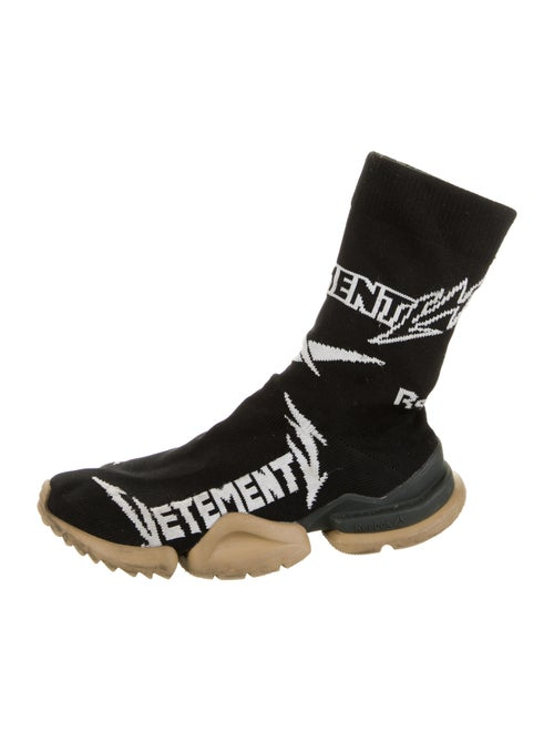 Vetements x Reebok Knit Sock Sneakers Black