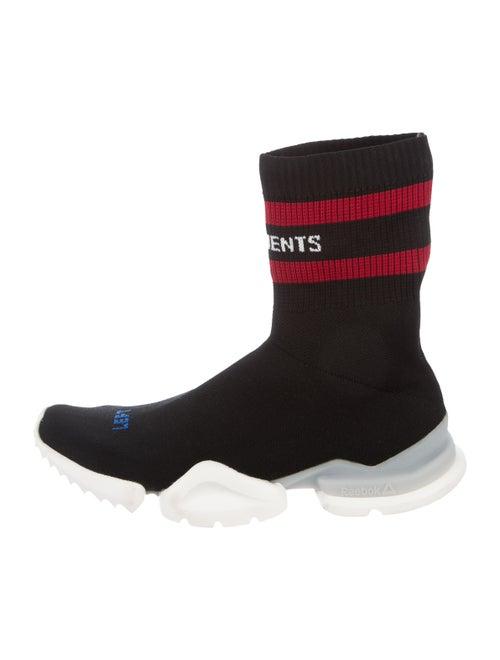Vetements x Reebok Sock Pump High-Top Sneakers bla