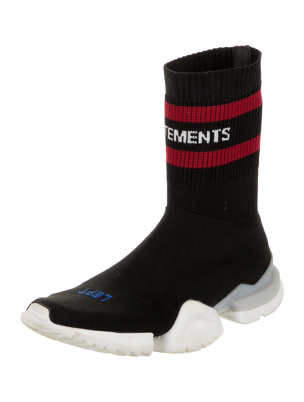Vetements x Reebok Pump Sock Sneakers Black - image 2