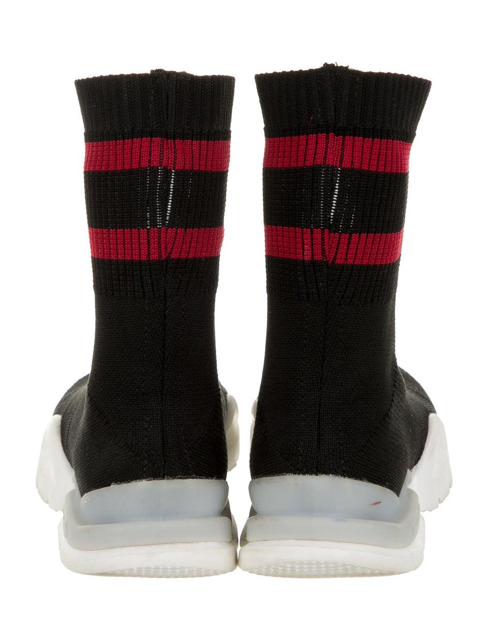 Vetements x Reebok Pump Sock Sneakers Black - image 4