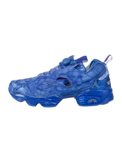 Vetements x Reebok Instapump Fury Sneakers w/ Tag… - image 1