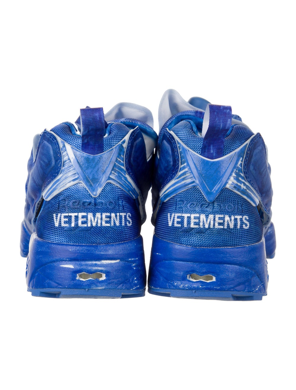 Vetements x Reebok Instapump Fury Sneakers w/ Tag… - image 4
