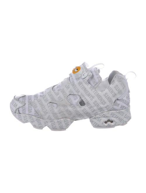 Vetements x Reebok Instapump Fury Emoji Sneakers … - image 1