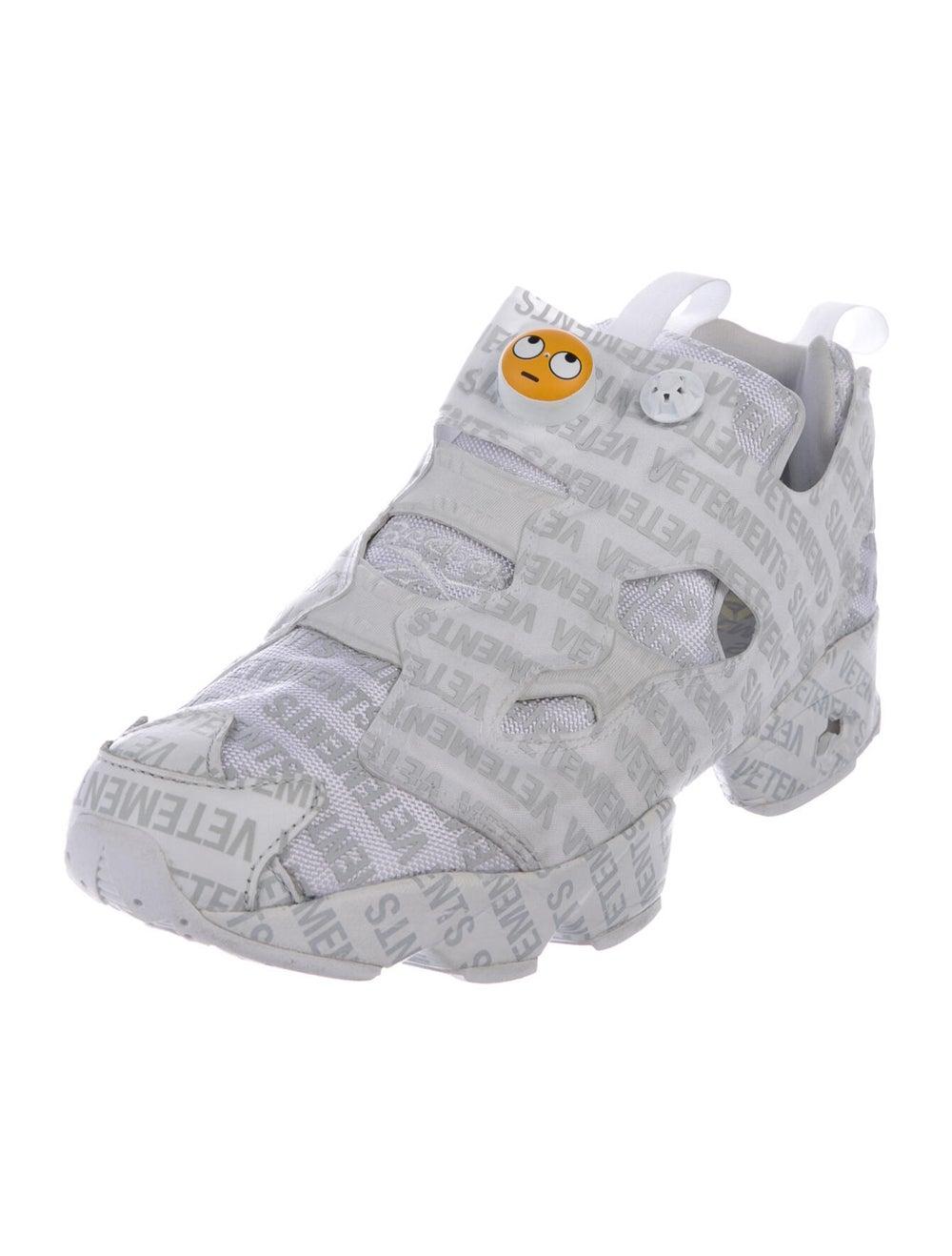 Vetements x Reebok Instapump Fury Emoji Sneakers … - image 2