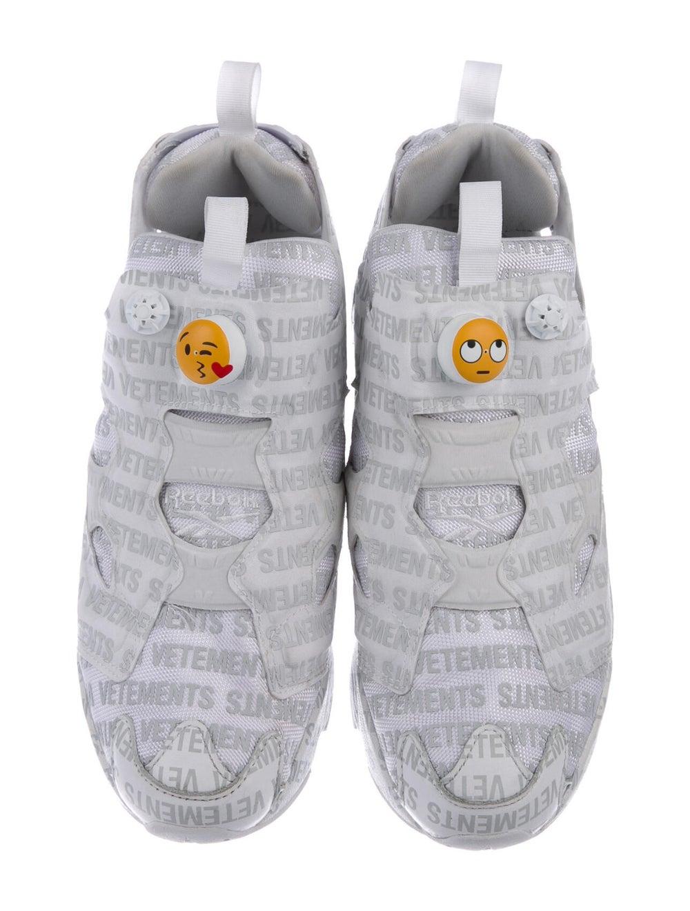Vetements x Reebok Instapump Fury Emoji Sneakers … - image 3