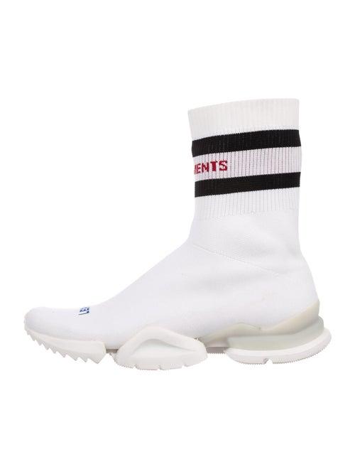 Vetements x Reebok Sock Pump High-Top Sock Sneake… - image 1
