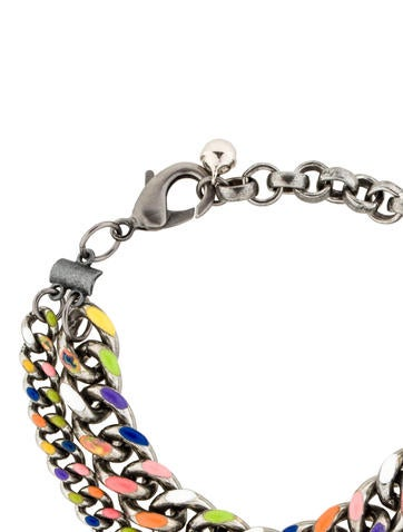Multicolor Chain Bracelet