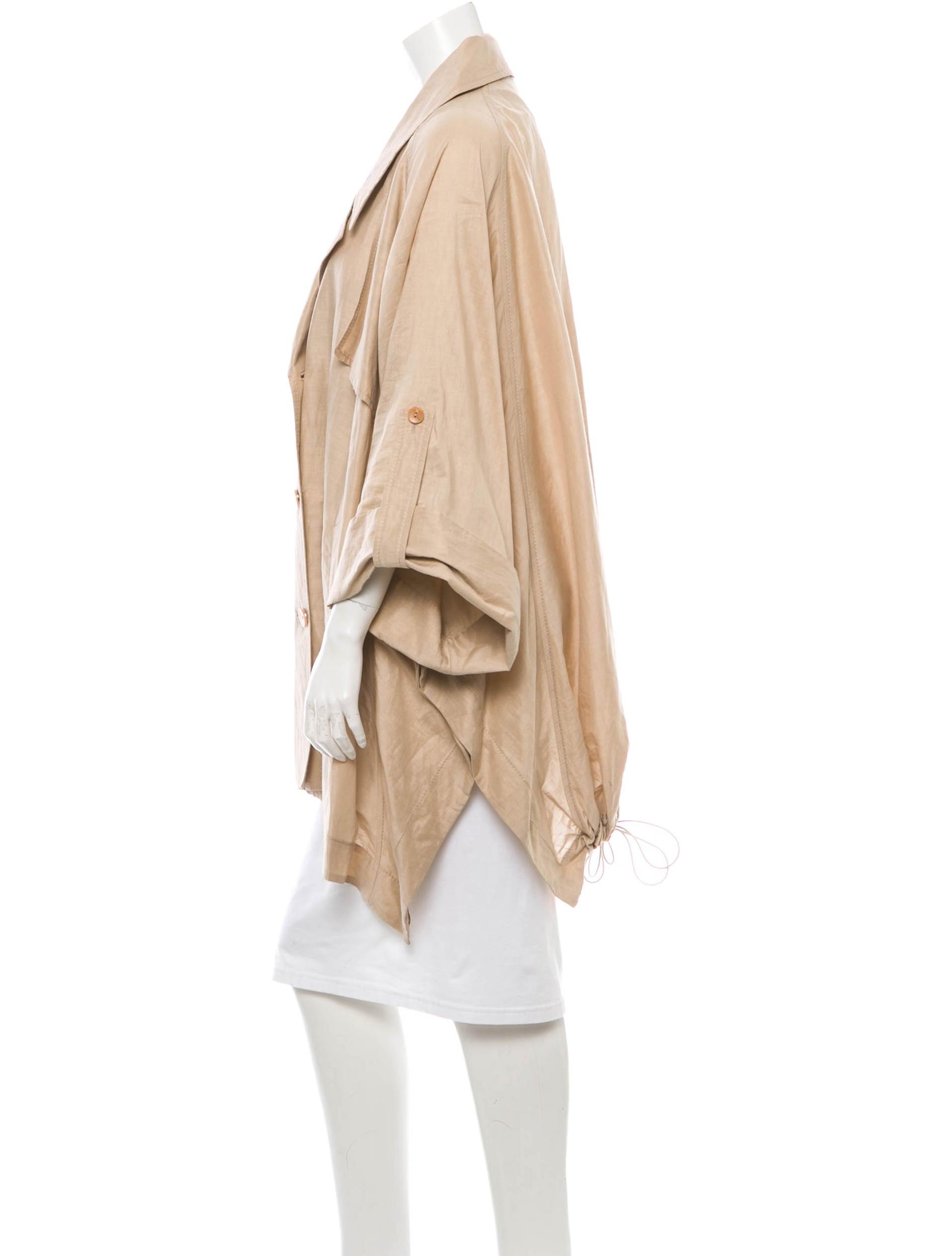 viktor rolf linen coat clothing vik20309 the realreal. Black Bedroom Furniture Sets. Home Design Ideas