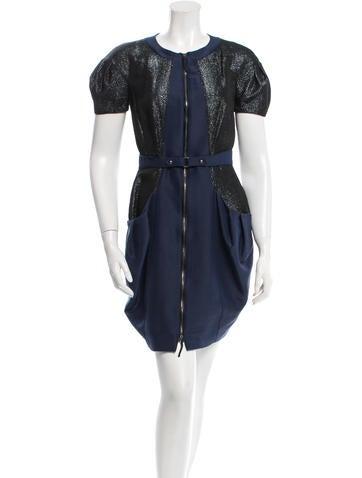 viktor rolf wool mini dress clothing vik20966 the realreal. Black Bedroom Furniture Sets. Home Design Ideas