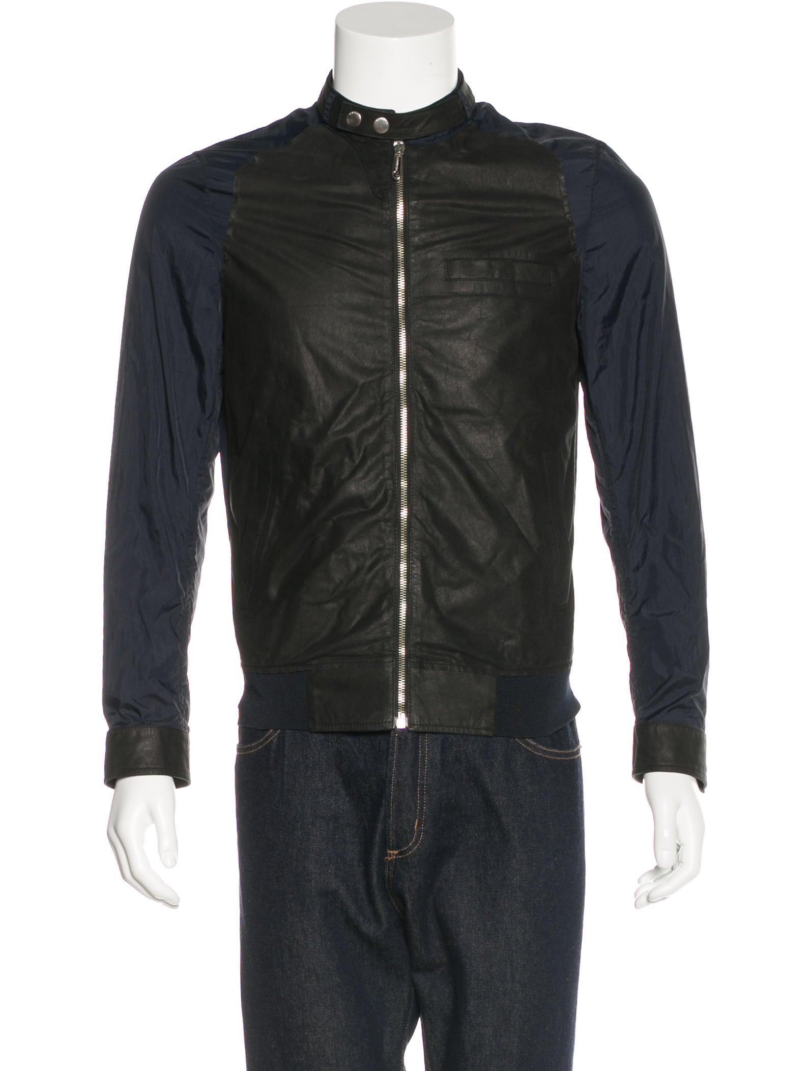 viktor rolf lambskin windbreaker jacket clothing vik21001 the realreal. Black Bedroom Furniture Sets. Home Design Ideas