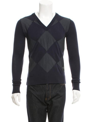 Viktor & Rolf Quilted Wool Sweater None