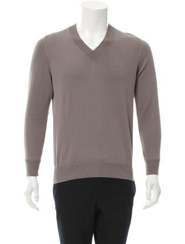 Viktor & Rolf V-Neck Pullover Sweater None