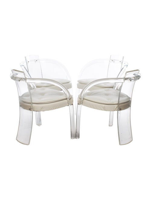 Vintage Lucite Chairs Furniture Vin20001 The Realreal