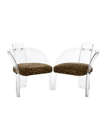 Vintage Lucite Chairs
