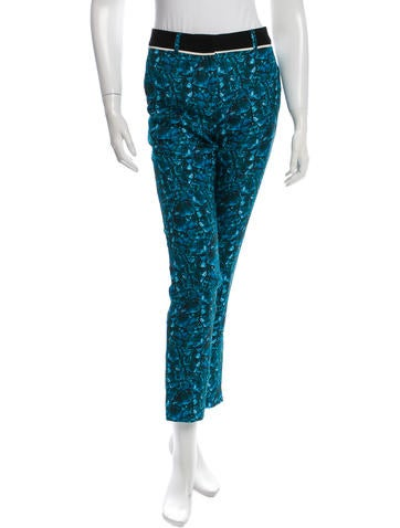 Vionnet Printed Silk Pants