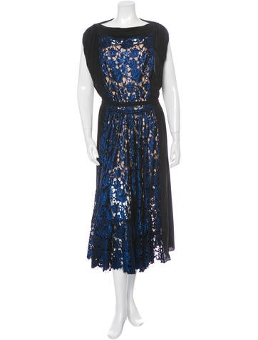 Vionnet Lace Midi Dress