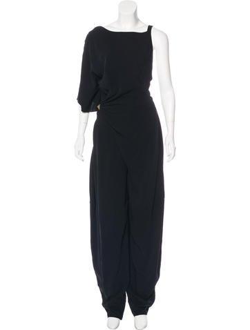Vionnet Asymmetrical Crepe Jumpsuit W/ Tags by Vionnet