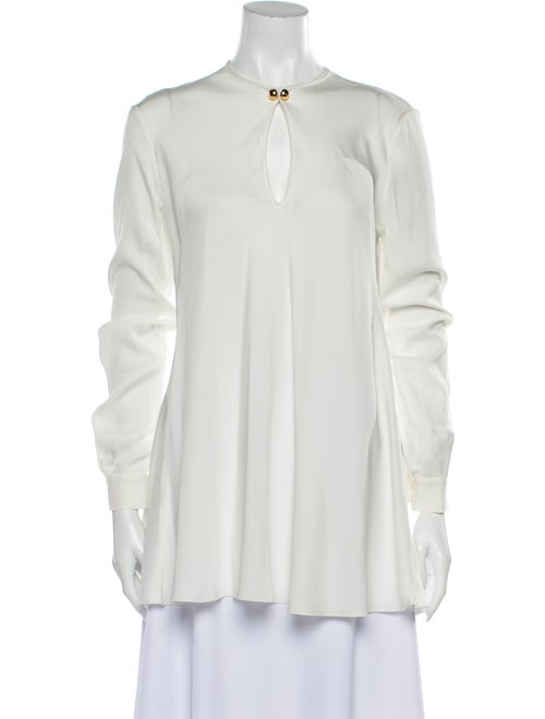 Vionnet Silk V-Neck Tunic