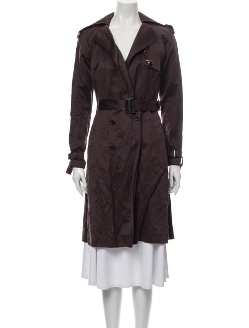 Vionnet Trench Coat Brown