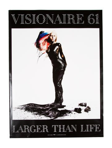 Visionaire 61: Larger Than Life None