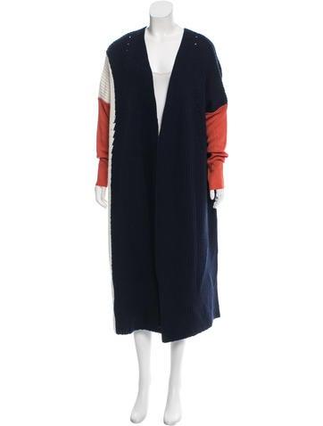 Victor Alfaro Colorblock Wool Cardigan None