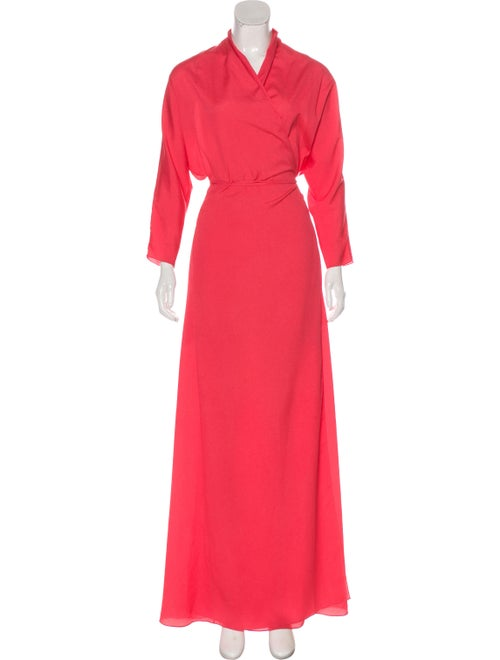 Vita Kin Dolman Wrap Dress Coral