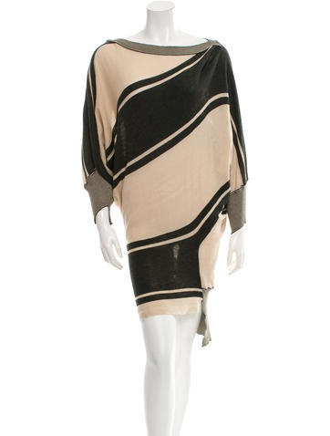 Vivienne Westwood Patterned Sweater Dress w/ Tags None