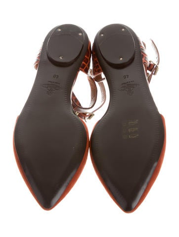 Pointed-Toe d'Orsay Flats