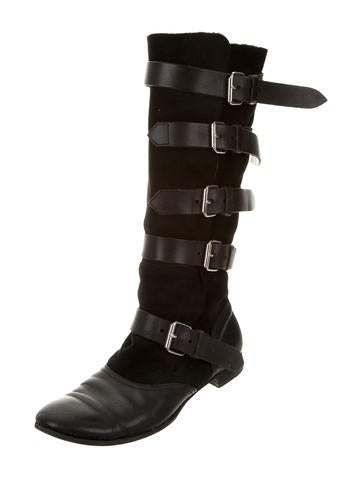 Vivienne Westwood Pirate Leather Boots - Shoes