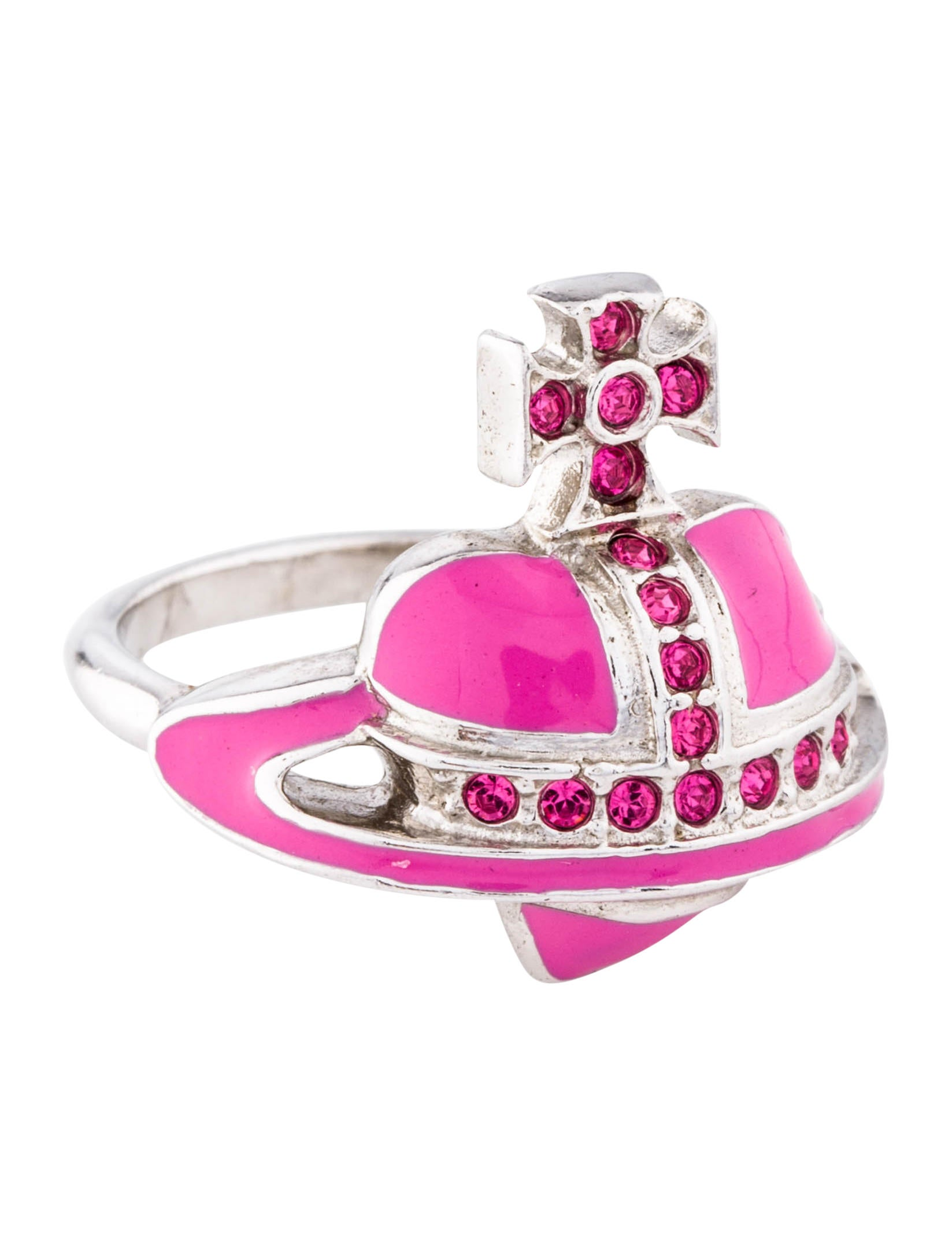 Vivienne Westwood Orb Ring - Rings - VIV22686 | The RealReal