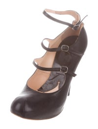 Leather Mary Jane Pumps image 2
