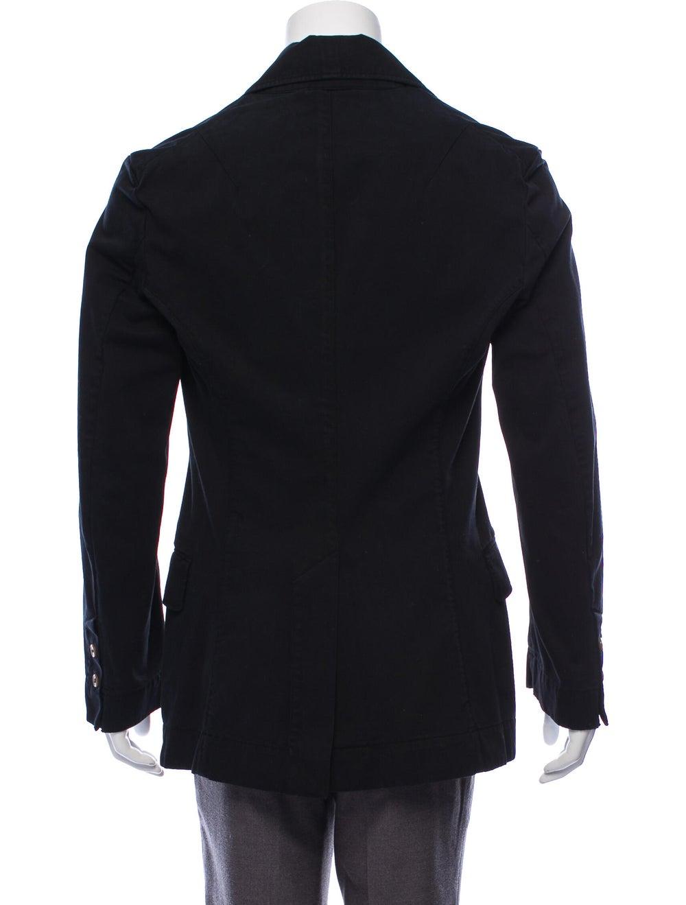 Vivienne Westwood Two-Button Twill Blazer black - image 3