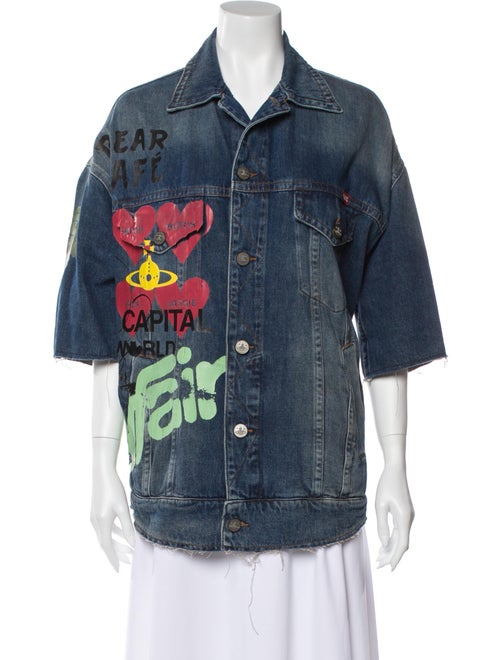 Vivienne Westwood Denim Jacket Denim