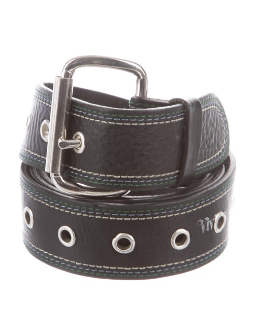 Vivienne Westwood Leather Belt Black