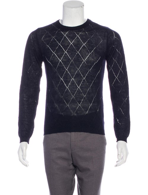 Vivienne Westwood Knit Lambswool Sweater navy