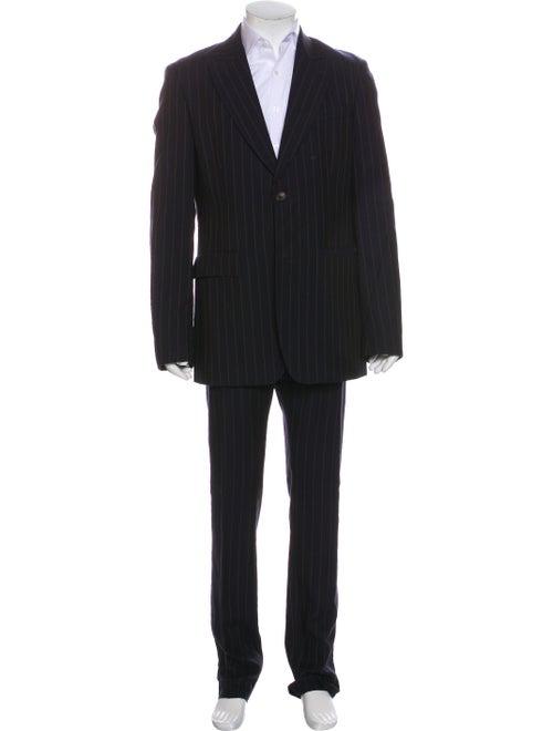 Vivienne Westwood Wool Striped Two-Piece Suit Wool